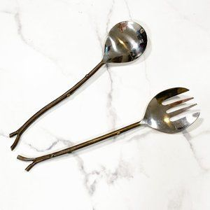 West Elm 2 Piece Twig Salad Serving Set